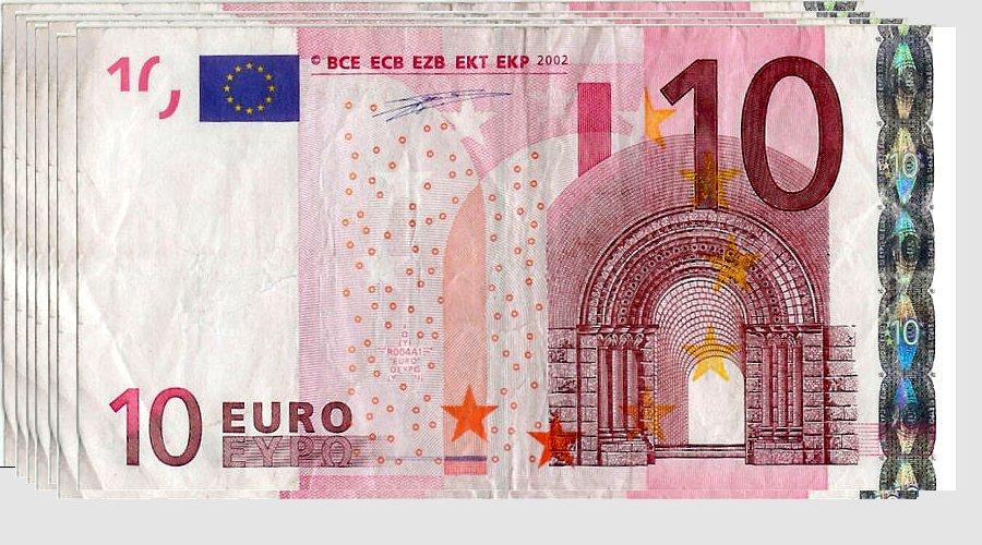tien euro biljetten