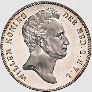 munt van koning Willem I