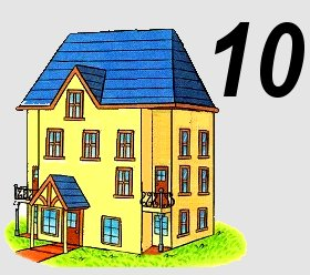huisje van 10