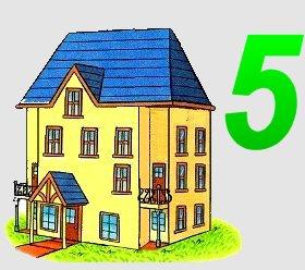 huisje van 5