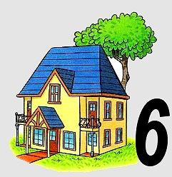 huisje van 6